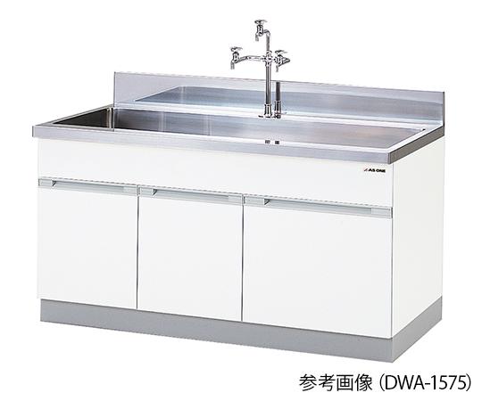3-5863-15 流し台 (1800×750×800mm) DWA-1875 アズワン(AS ONE)
