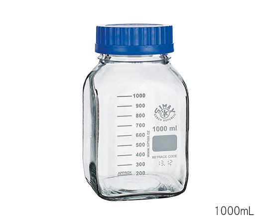 広口メディウム瓶 透明 500mL 2080M/500