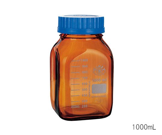 広口メディウム瓶 遮光 500mL 2080M/H500 SIMAX