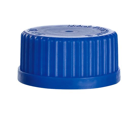 メディウム瓶用交換キャップ キャップ(青色) 140℃ GL45 2070UPP/B