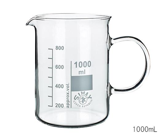 ガラス手付ビーカー 600mL 154/600 SIMAX