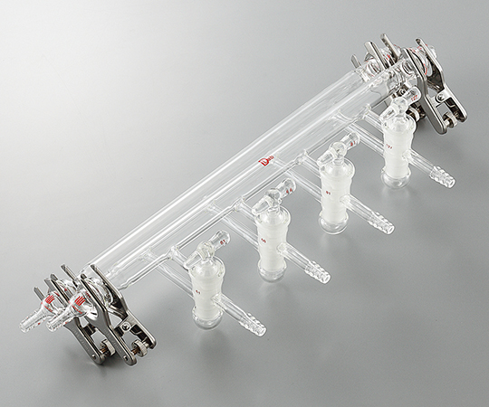 ガス置換真空マニフォールド フランジ接続タイプ