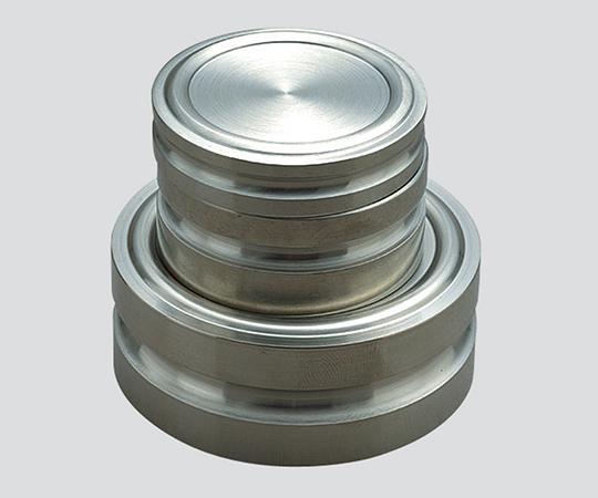 円盤分銅 2000g 等級M1級 JCSS校正付(2級) M1DS-2K-JCSS3 新光電子(VIBRA)