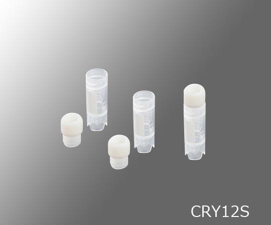 3-6378-02 クライオバイアル 内ねじキャップ 2ml 自立式 CRY12S(50個) アズワン(AS ONE)