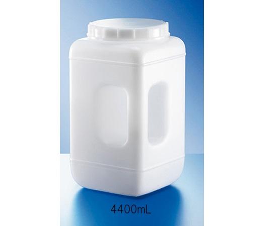 ハンドル付き広口角瓶(キャップ付き) 4400mL KAUTEX