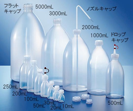 2000070604 ナチュラル細口瓶 50~200mL用フラットキャップ 2000070604 KAUTEX