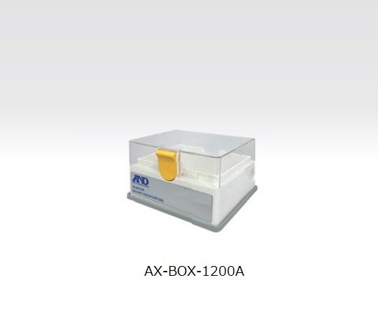 電動マイクロピペット用 ロック付きチップボックス(1200μL用) AX-BOX1200A