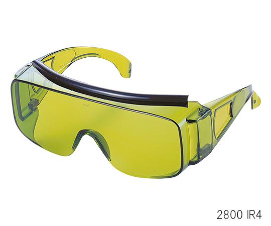 3-7185-05 溶接・溶断作業用遮光眼鏡 (IR大型オーバーグラス) 遮光度 IR4 2800 トーアボージン