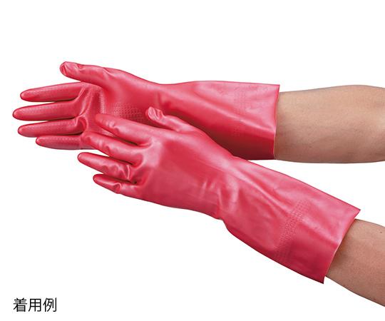 天然ゴム手袋 (ワークサヤン) S ピンク ダンロップホームプロダクツ