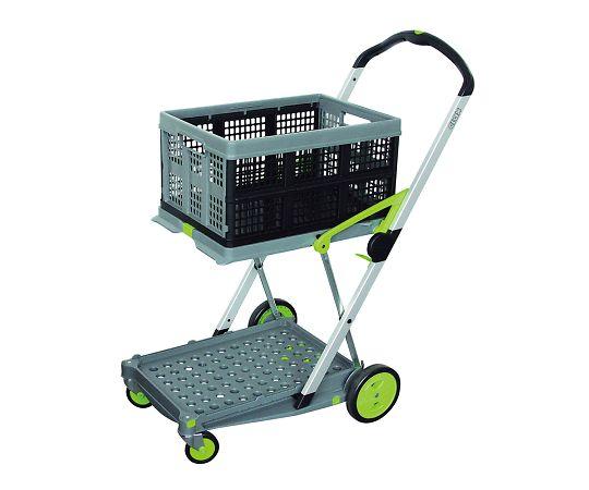 折り畳みコンテナ付き2段台車(Clax Mobil Trolley)
