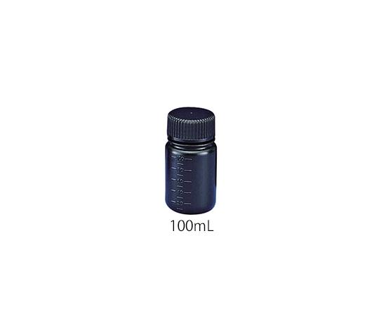 フッ素ガスコーティング容器(遮光タイプ) 100mL JFWB-100