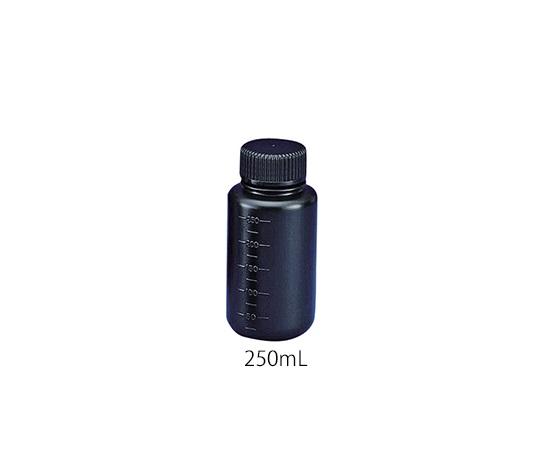 フッ素ガスコーティング容器(遮光タイプ) 250mL JFWB-250