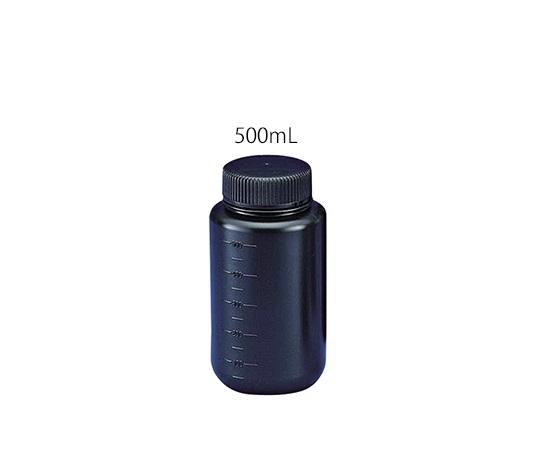 フッ素ガスコーティング容器(遮光タイプ) 500mL JFWB-500 ニッコー・ハンセン