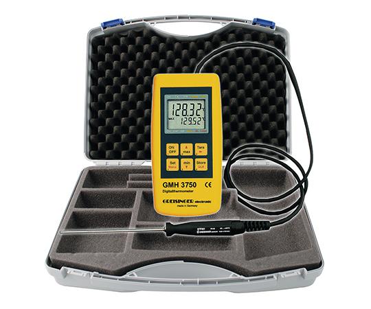 高精度白金温度計 本体セット GMH3750/SET1(校正証明書付) グライシンガー
