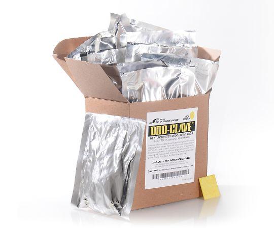 3-9143-03 脱臭パッド レモン Odo-Clave(R) H13198-0003(10個×10袋) アズワン(AS ONE)