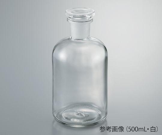 細口試薬瓶 茶 1000mL 632414202940