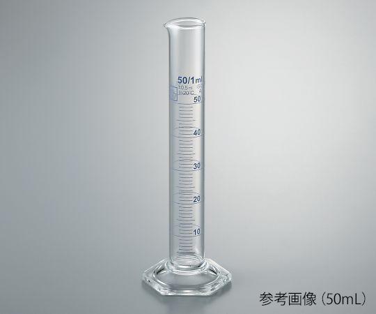 メスシリンダー(青目盛) 100mL TSCY-100