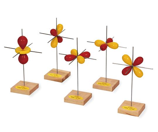 電子軌道模型 d軌道模型(5個)