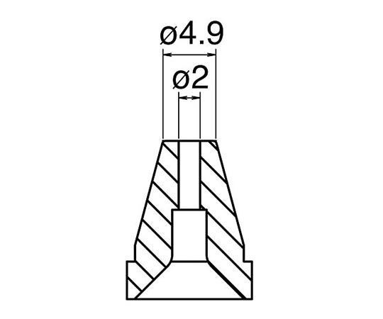 はんだ吸取器(FR400-81)用ノズル N60-05