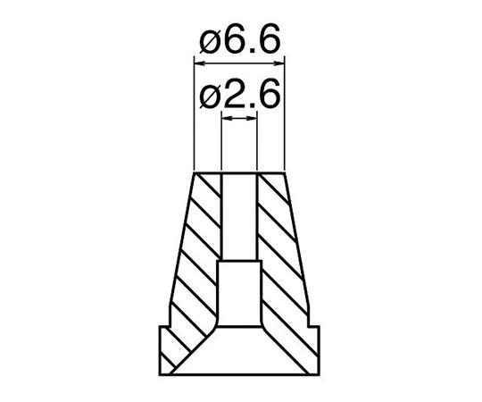 はんだ吸取器(FR400-81)用ノズル N60-06