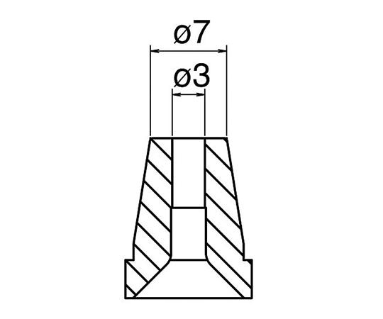 はんだ吸取器(FR400-81)用ノズル N60-07