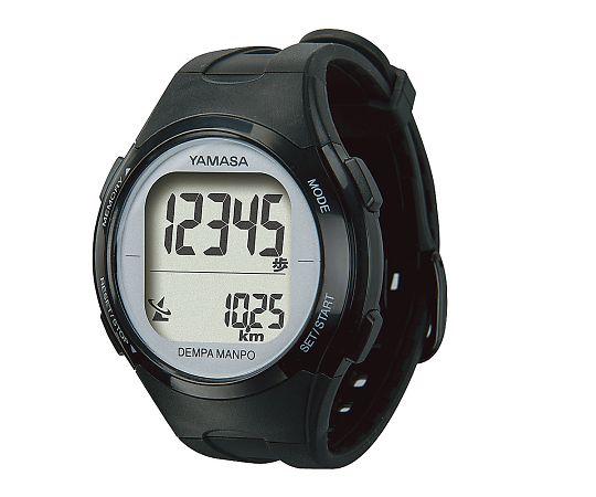 ウォッチ万歩計 ブラック/シルバー TM-500(B/S) 山佐時計計器