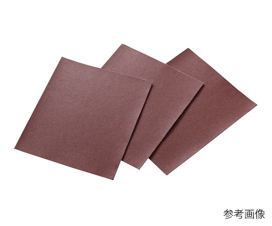 3-9515-01 研磨布シート(アルミナタイプ) #60(10枚) アズワン(AS ONE)