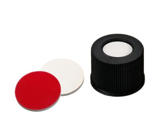 オートサンプラー用バイアル LLG Labware用 黒キャップ 13150815(100個) LLG Labware