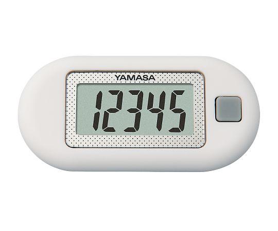 万歩計 ポケット万歩(R) ホワイト EX-150(W) 山佐時計計器