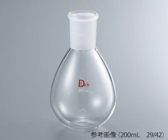 共通摺合平底ナスフラスコ(硼珪酸ガラス-1) 50mL 29/42