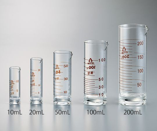 液量計(円筒形)100mL アロー(ARROW)