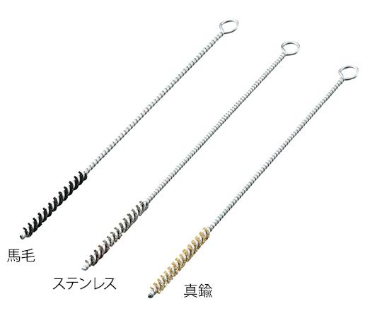 ネジリブラシ 真鍮 φ12×200mm NB-12-200