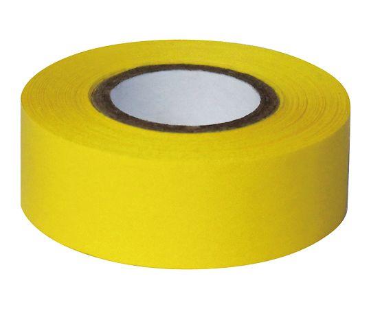 耐久カラーテープ 幅25.4mm 黄 ASO-T34-2
