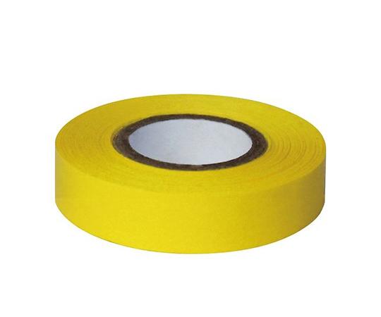 耐久カラーテープ 幅12.7mm 黄 ASO-T14-2
