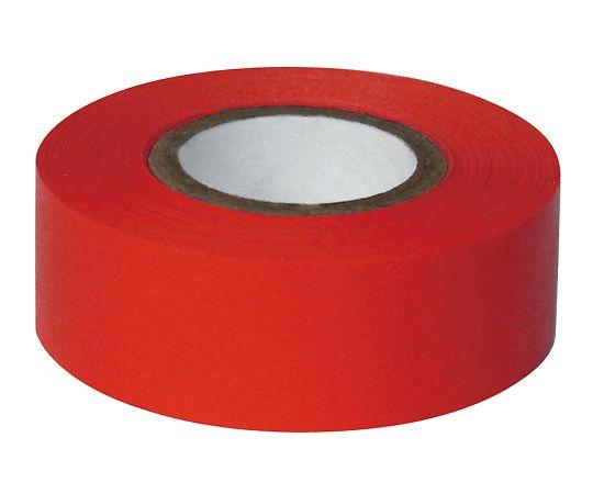 耐久カラーテープ 幅25.4mm 赤 ASO-T34-4