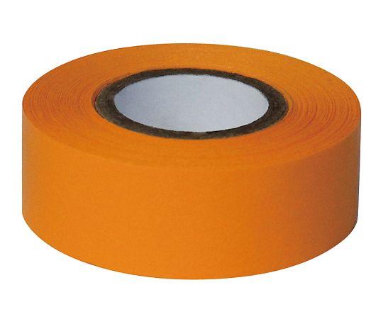 耐久カラーテープ 幅25.4mm オレンジ ASO-T34-5