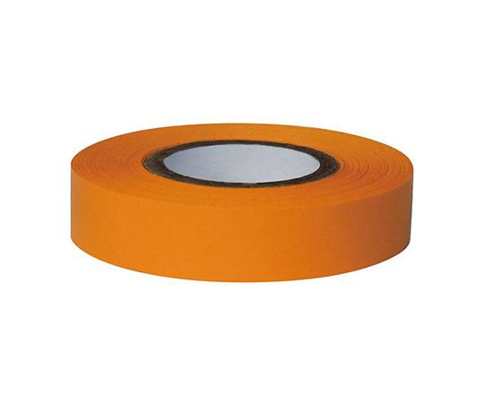 耐久カラーテープ 幅12.7mm オレンジ ASO-T14-5