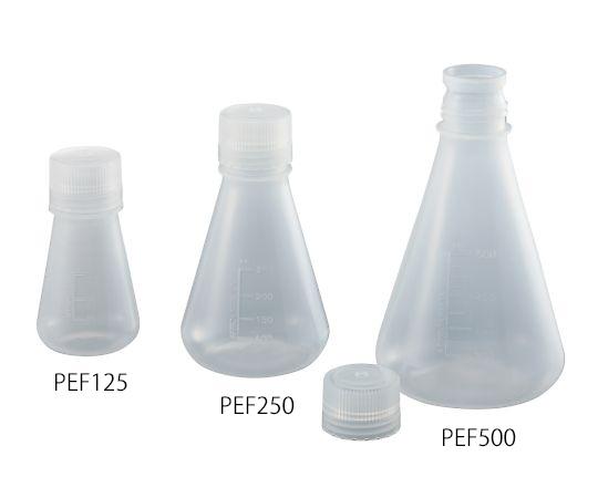 PP三角フラスコ(スクリューキャップ付) 50mL PEF50