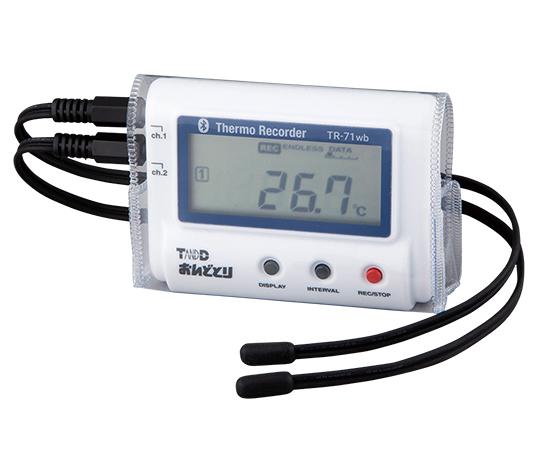 温度記録計(おんどとり・ビニールケース付き) TR-71wb