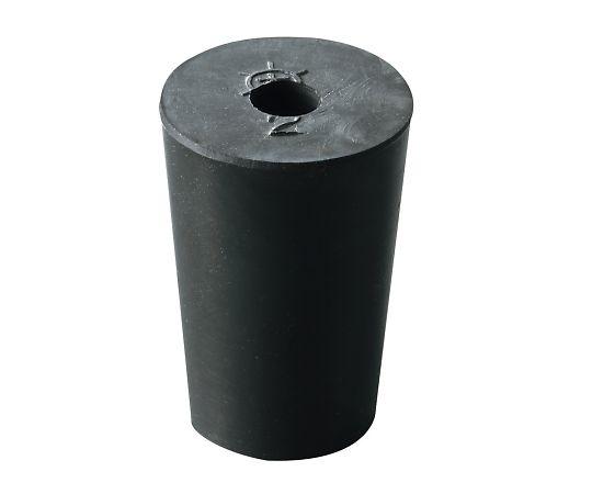 4-389-12 穴あきゴム栓(バイトンR栓) 2号 アズワン(AS ONE)
