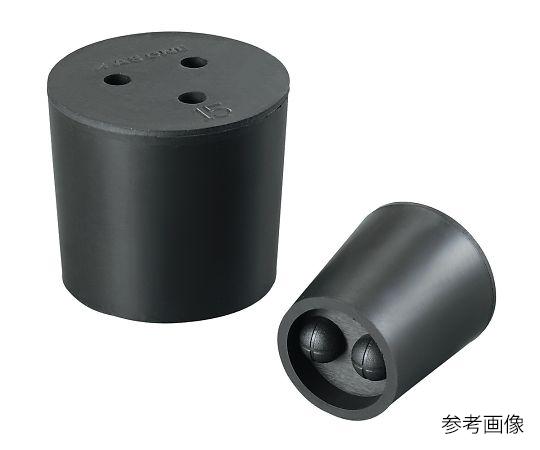 4-390-01 穴付きゴム栓(バイトン(R)栓) 8号 アズワン(AS ONE)