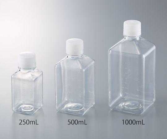 角型培地瓶 1000mL GPE1000(12本)