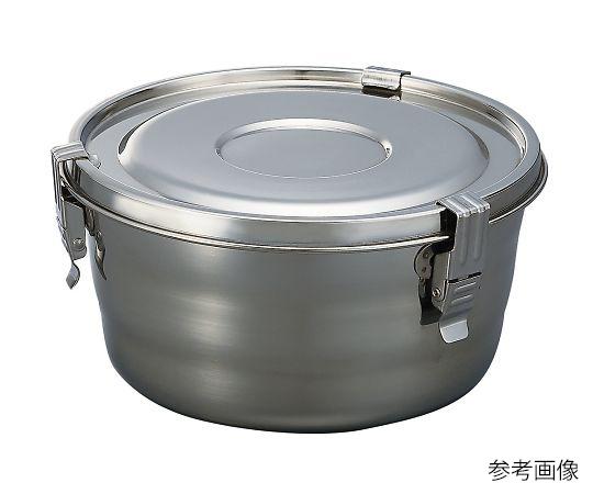 4-607-03 ステンレス丸形密閉タンク 0.7mL OT-03R アズワン(AS ONE)