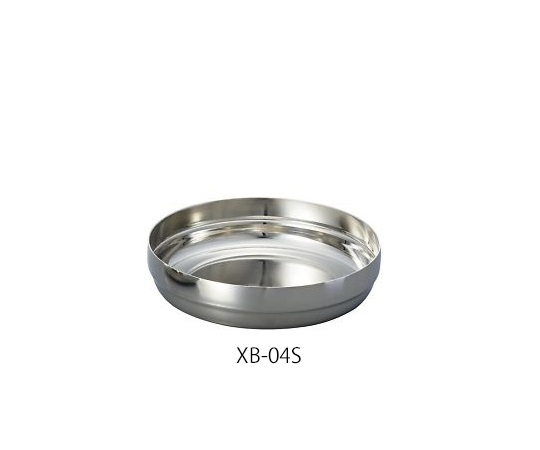 4-614-04 ステンレス丸皿 XB-04S アズワン(AS ONE)