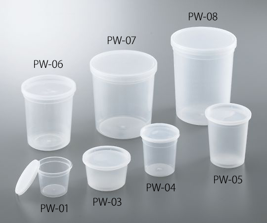 ディスポPPサンプル保存容器 120mL PW-01(300個)
