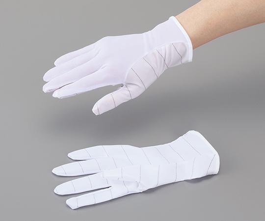 4-835-03 アズピュア 防塵ESD手袋(ショートタイプ) L(10双) アズワン(AS ONE)