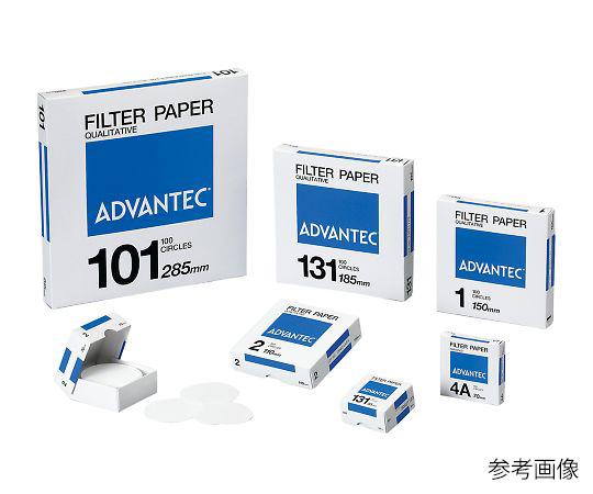 定性濾紙 No.101 00101240(100枚) アドバンテック(ADVANTEC)