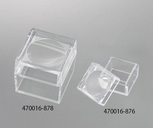 470016-878 ルーペ付き保管ケース 約38×38×38mm 470016-878 VWR