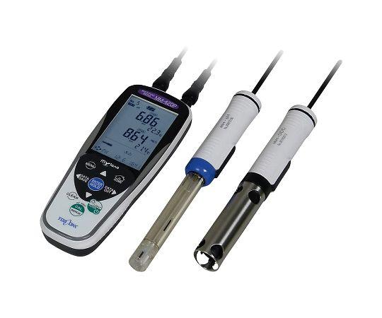 ポータブルマルチ水質計 2ch(DOプローブ付属) MM-42DP(pH/DO)
