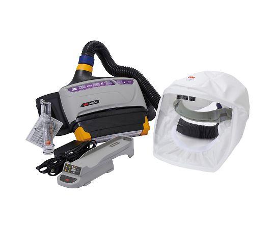 バーサフロー™電動ファン付き呼吸用保護具 隔離式ルーズフィット形(フェイスシールド、大風量形) TR-800-133J